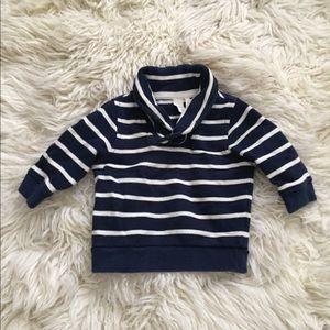 J. Crew baby shawl collar sweatshirt